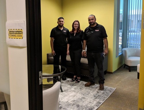 Family counseling room gets a free makeover