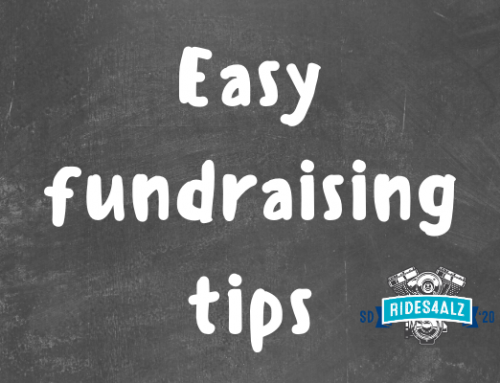 Rides4ALZ 2020: Easy fundraising tips that make a difference